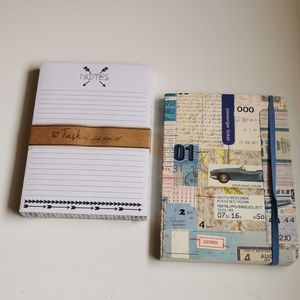 🚨 2 for $15 💘 Group of 2 note books.